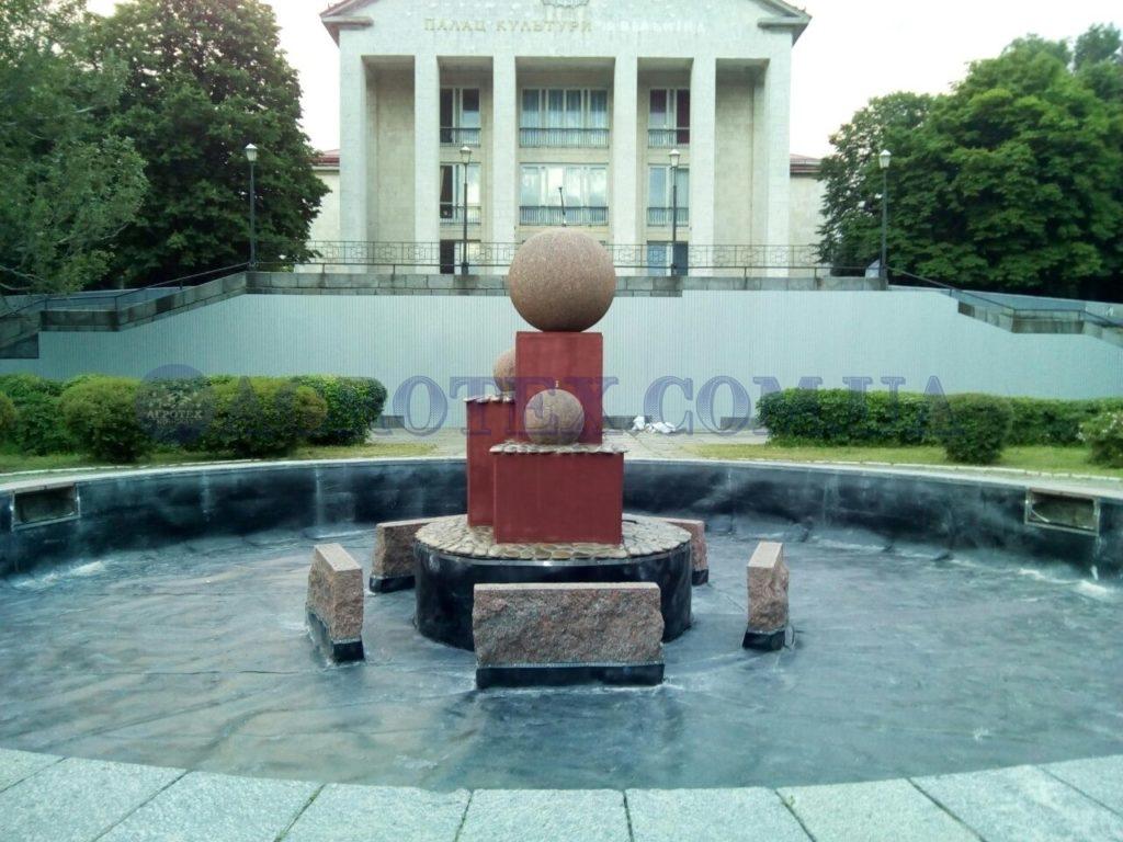 гідроізоляція фонтанів
