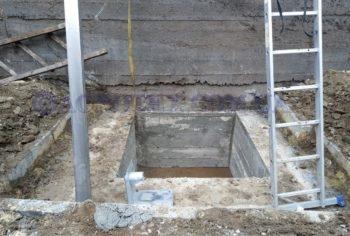 Підготовка місця для монтажу погружного насосу