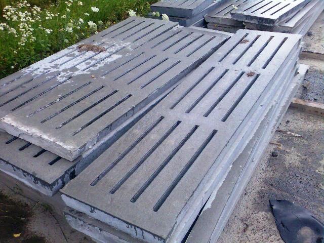 бетонный щелевой пол