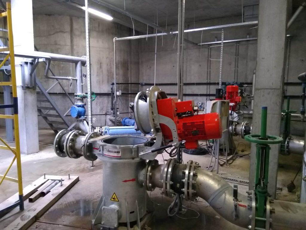 проточный измельчитель на биогазовом производстве
