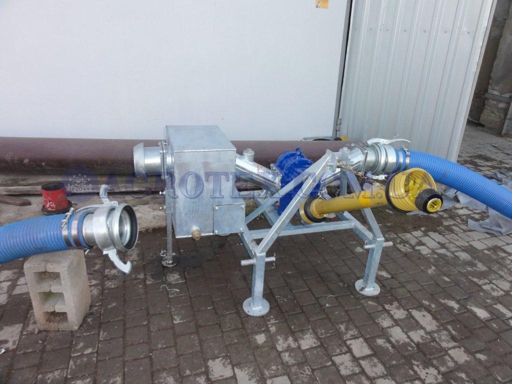 роторный насос с карданным валом