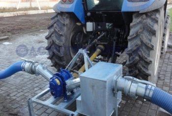 підключення насосу до ВВП від трактору