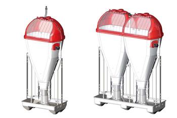 Одинарный и двойной кормоавтомат Tube-O-Mat