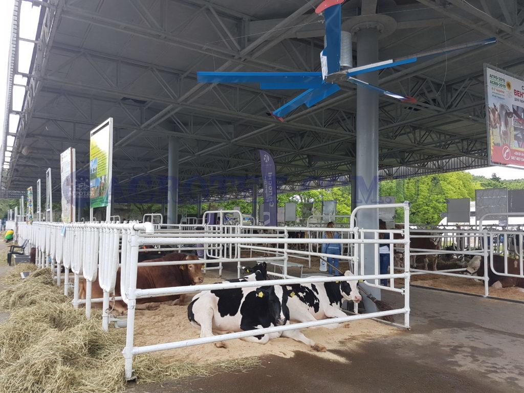 Вентилятори для ферми ВРХ