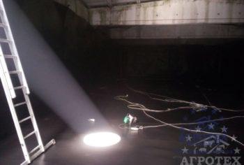 підземне сховище для КАС